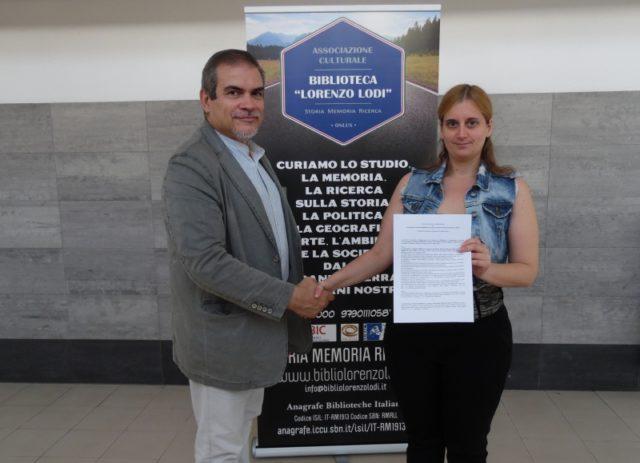 Sottoscritto l'accordo di collaborazione tra l'ACBLL Storia Memoria Ricerca Onlus e Le Muse News
